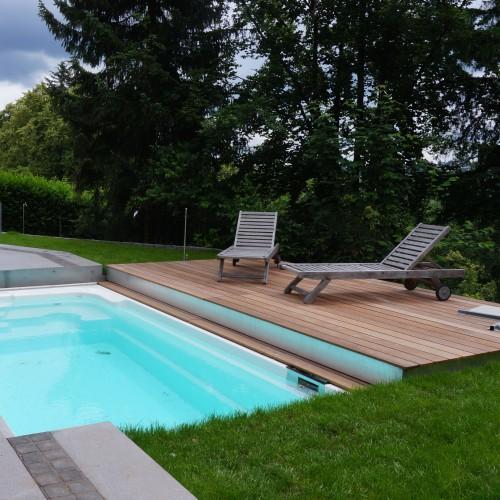 Garten mit pool cheap coole pool im kleinen garten for Gartenpool im test